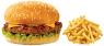 deal 2,  3 x beef burger & chips
